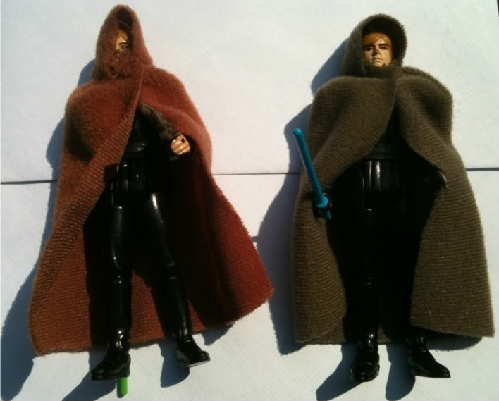 Weird Jedi Luke cape, weapons 23f31f0a