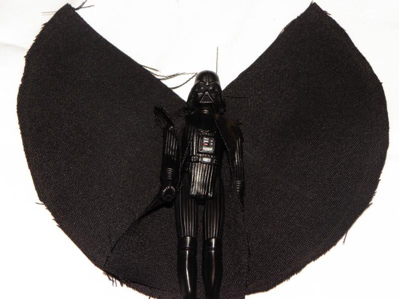 Weird Jedi Luke cape, weapons DSCN4779