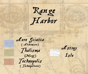 Cartes de la ville, de l'archipel et du monde Lgende2