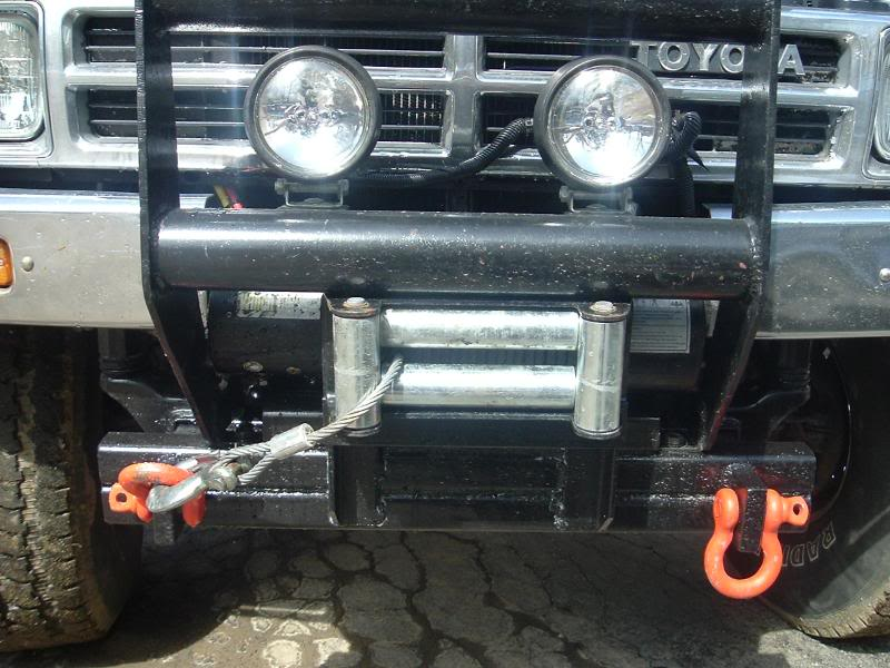 New winch on my Toyota 013