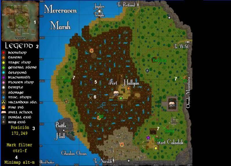 Manual sobre el Juego Mapa