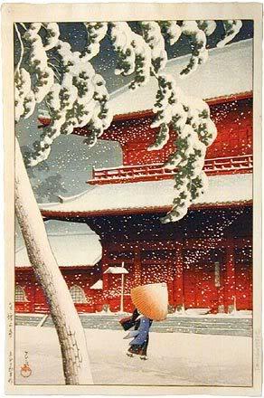 Estampe japonaise Hasui1