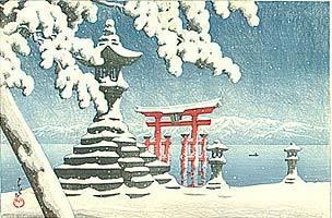 Estampe japonaise Hasui_kawase5
