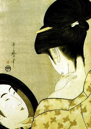 Estampe japonaise M-Utamaro
