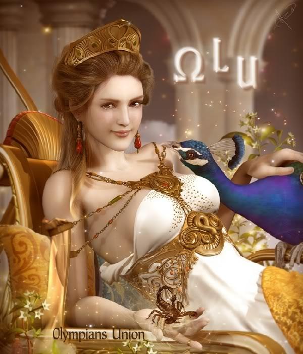Các vị thần trong thần thoại Hy Lạp Hera