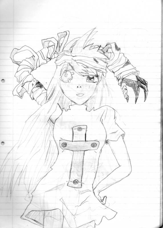 Keitaro-sempai's Ilustrations xD AmeliaKIYAHADA