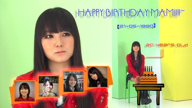 HAPPY 20TH BIRTHDAY MAMI Mami21