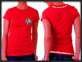 [PO] Indo Rockers - T-shirt T-red