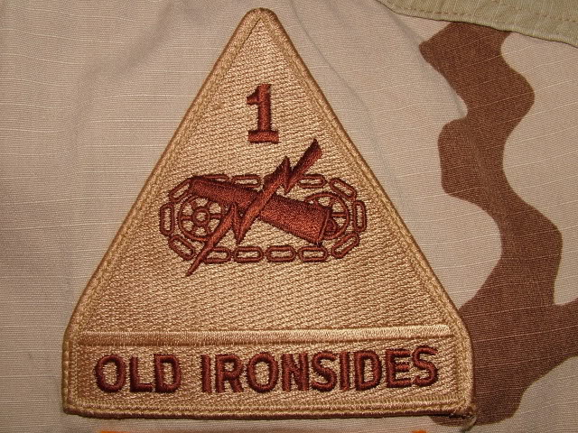 1st Armored Division (Old Ironsides) DSCF3414