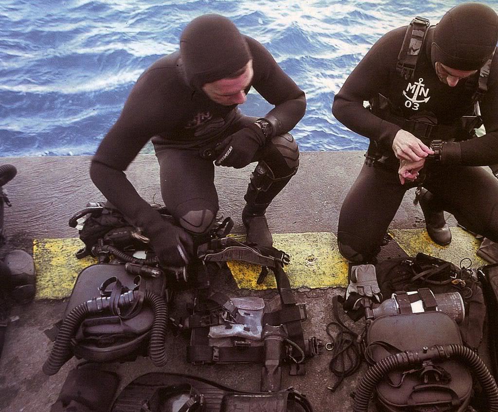 Plongeurs de combat de la marine nationale suite ... MNcasio