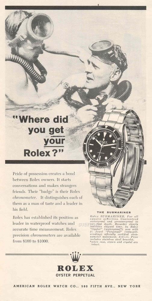 mother of all partie V (la saga des montres de plongée : Submariner ) N1960Whereresized
