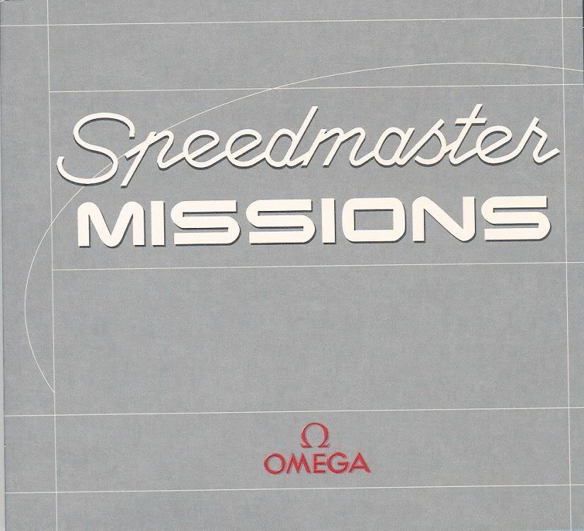(documents) rare livre commercial sur l'Omega Speedmaster P01