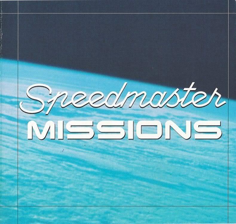 (documents) rare livre commercial sur l'Omega Speedmaster P03