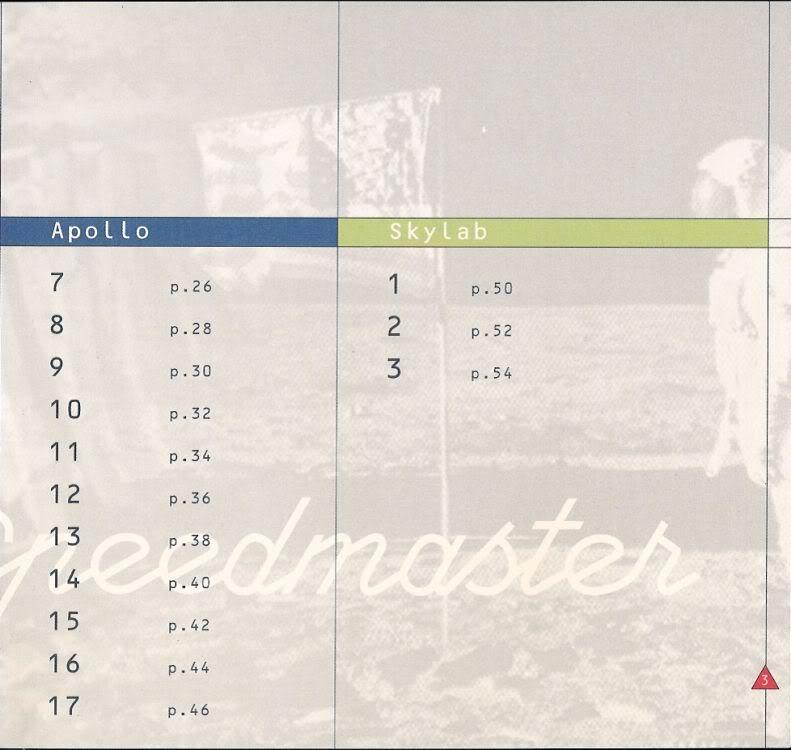 (documents) rare livre commercial sur l'Omega Speedmaster P04