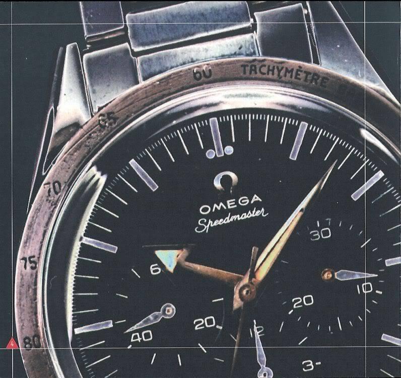 (documents) rare livre commercial sur l'Omega Speedmaster P05
