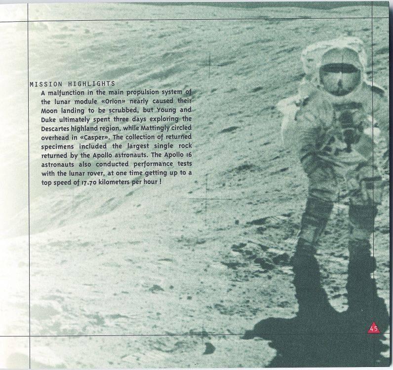 (documents) rare livre commercial sur l'Omega Speedmaster P45