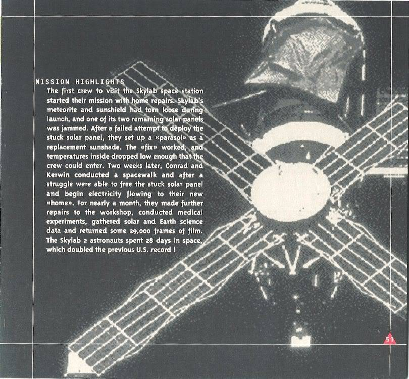 (documents) rare livre commercial sur l'Omega Speedmaster P51