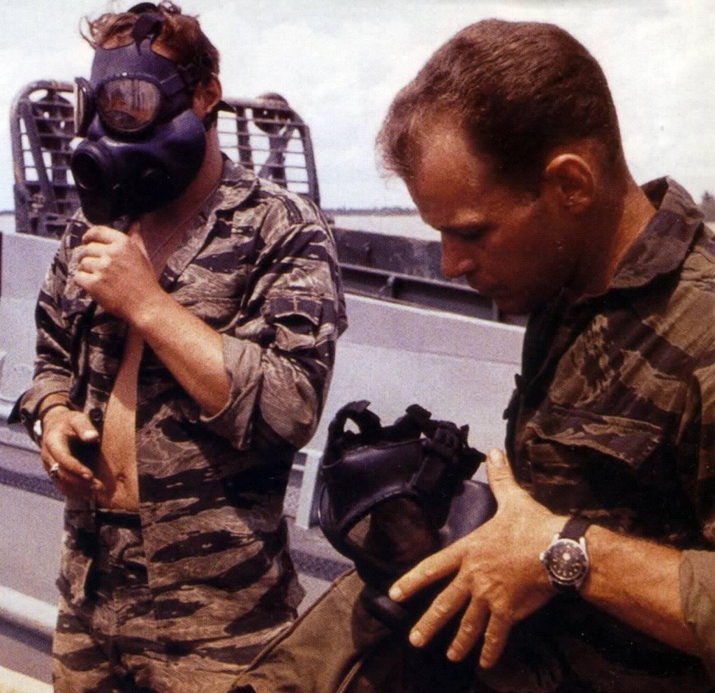 "Suite de ""operation in the Delta"" : Seals and Rolex Numriser9"