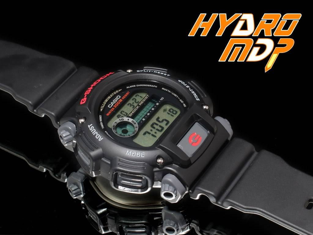 Equipression - HydroMDP : réalisation d'une Casio G-Shock équipression Hydro1logo
