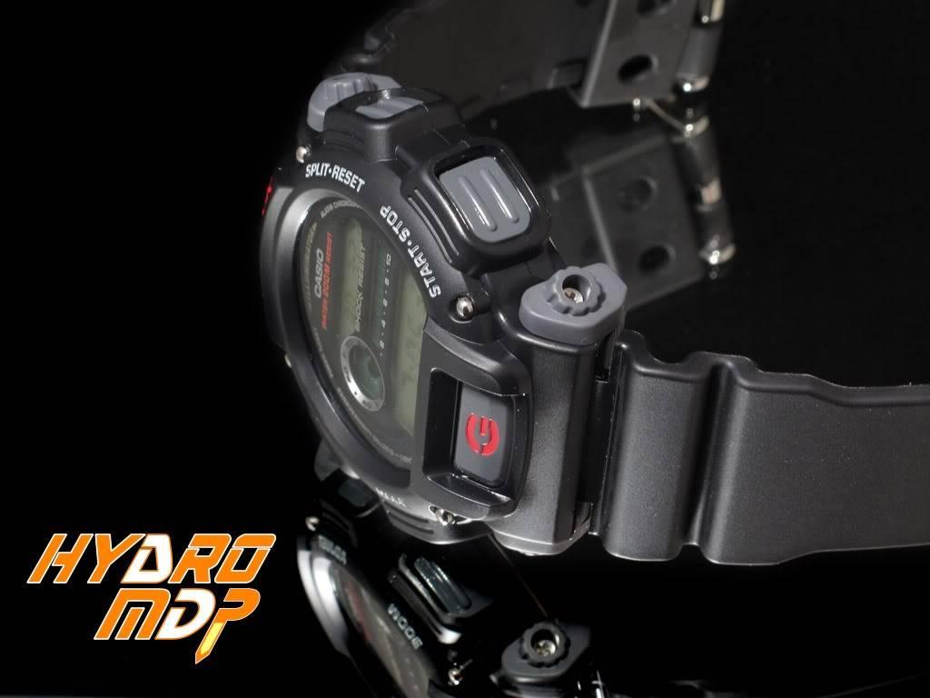 Equipression - HydroMDP : réalisation d'une Casio G-Shock équipression Hydro2logo