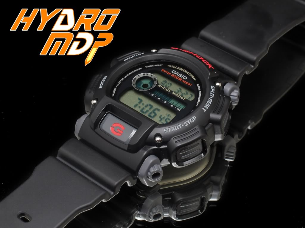 Equipression - HydroMDP : réalisation d'une Casio G-Shock équipression Hydro3logo