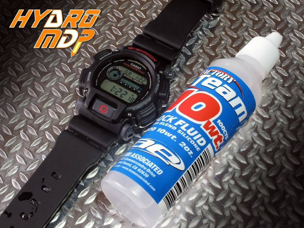 Equipression - HydroMDP : réalisation d'une Casio G-Shock équipression Hydro4logo