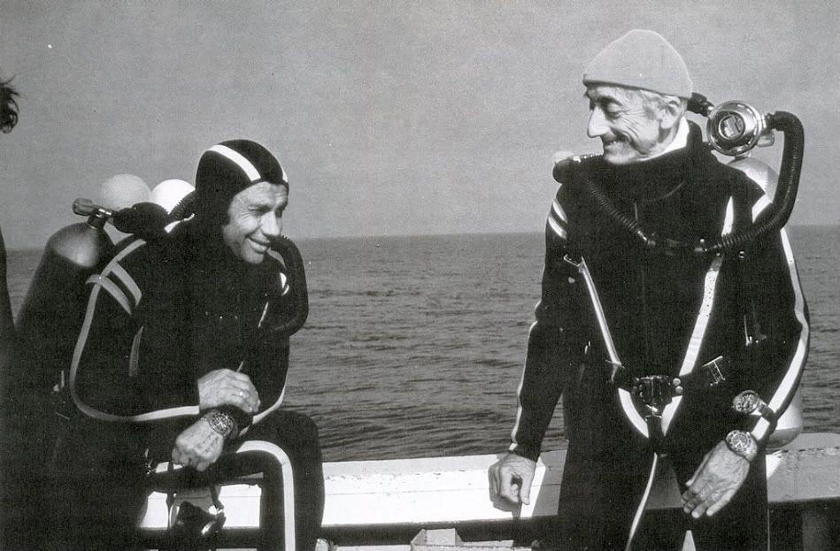 """quelles sont ces montres de l'épopée """"Cousteau"""".. Cousteauomega"""