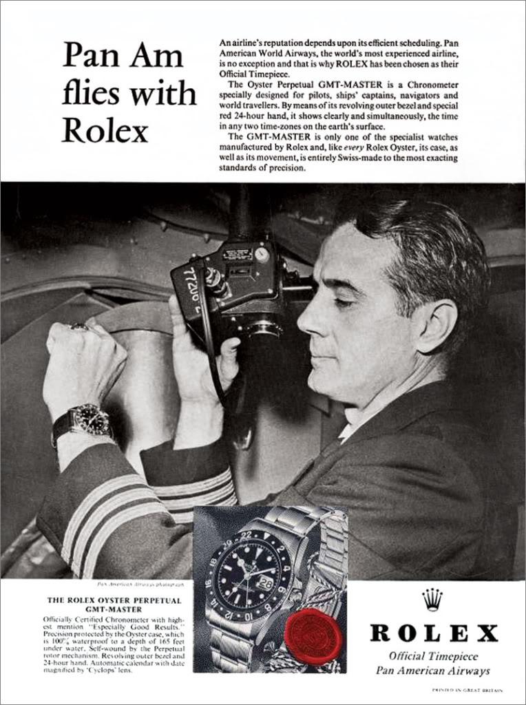 une GMT dans tous ces états ... 1963-Rolex-GMT-Master-Pan-Am
