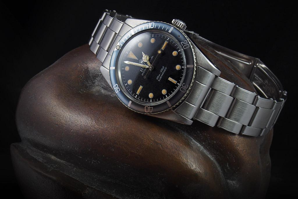 je plonge avec une montre dans la baignoire et ailleurs 5508metal04