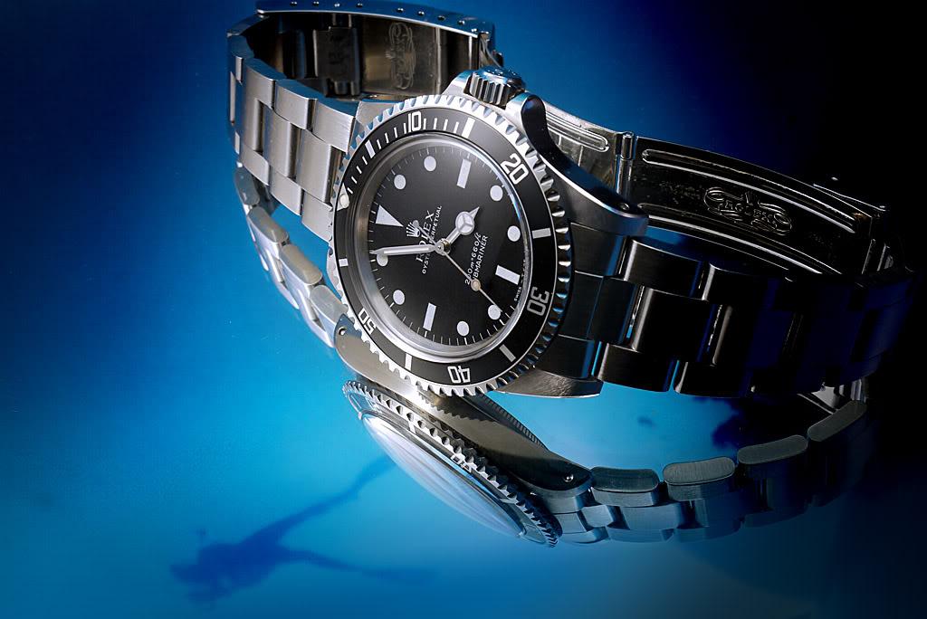 je plonge avec une montre dans la baignoire et ailleurs 5513JM16