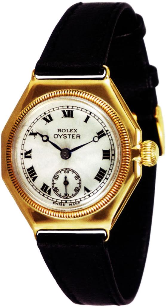 mother of all partie I (la saga des montres de plongée : la 1ere montre étanche) First-Rolex-Oyster-1926