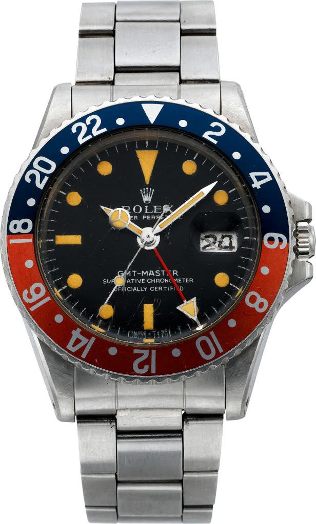 Rolex 1675 GMT ... Spatiale ! Ronald-Evans-GMT-Rolex-Moon-Watch