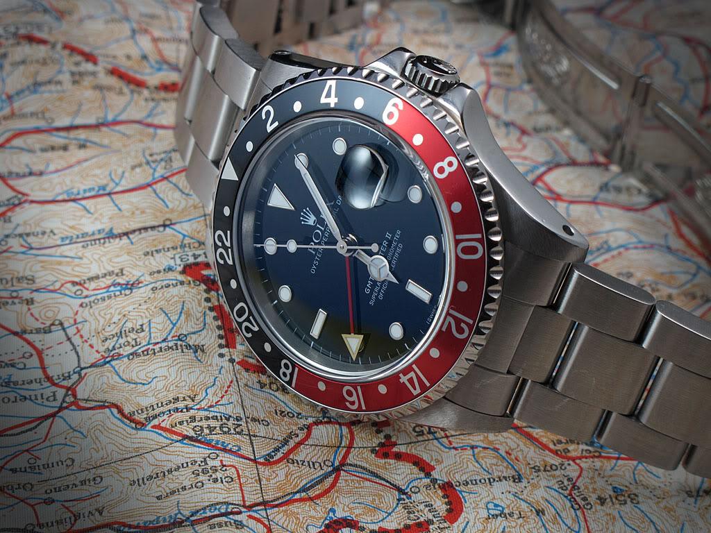 Rolex GMT Master II 16710 : la Rolex avec de l'aviation dedans ... GmtII01