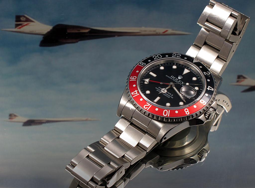 Rolex GMT Master II 16710 : la Rolex avec de l'aviation dedans ... GmtII03