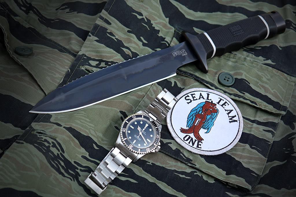 "Suite de ""operation in the Delta"" : Seals and Rolex Sogsub01"