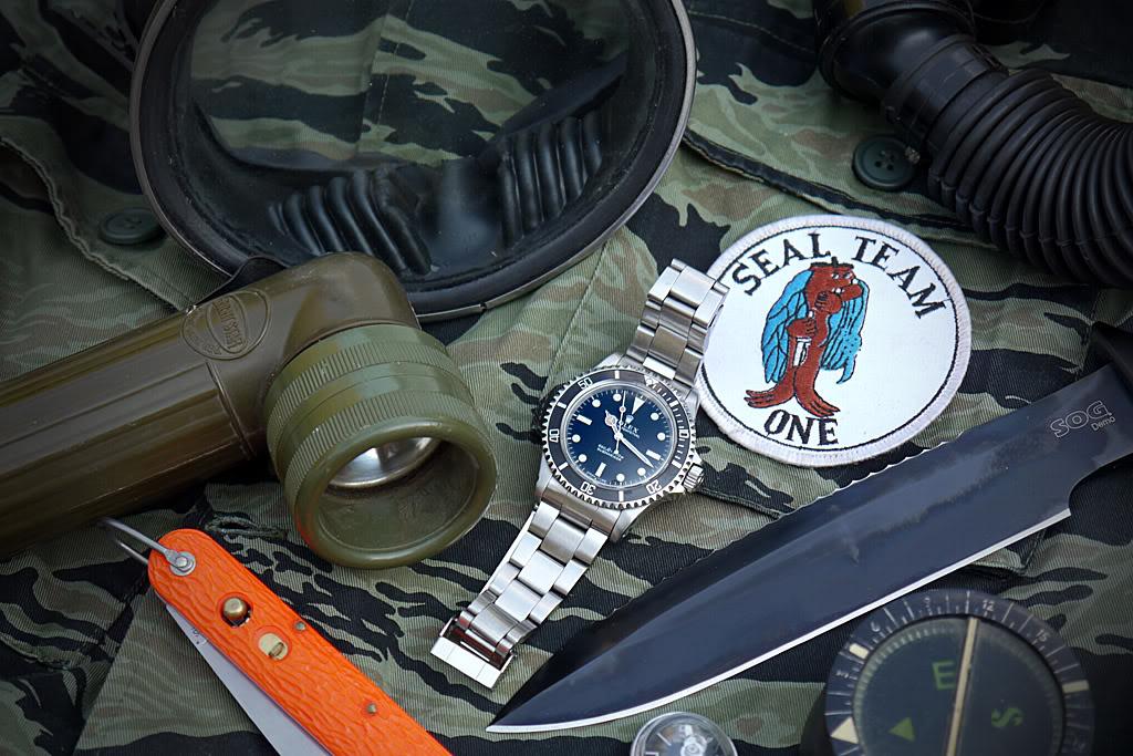 "Suite de ""operation in the Delta"" : Seals and Rolex Sogsub02"
