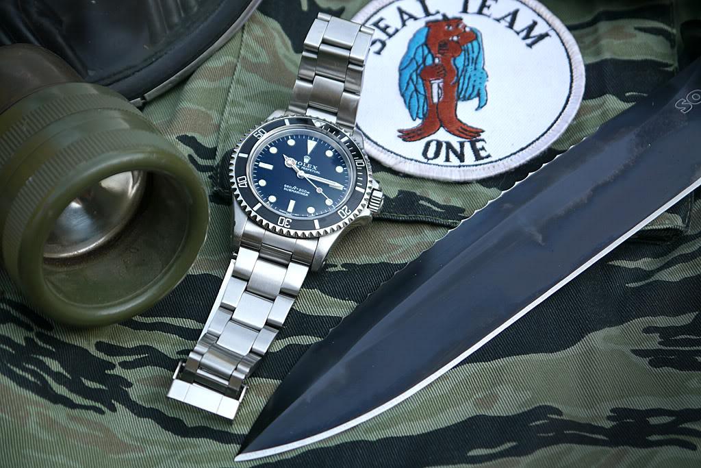 "Suite de ""operation in the Delta"" : Seals and Rolex Sogsub04"