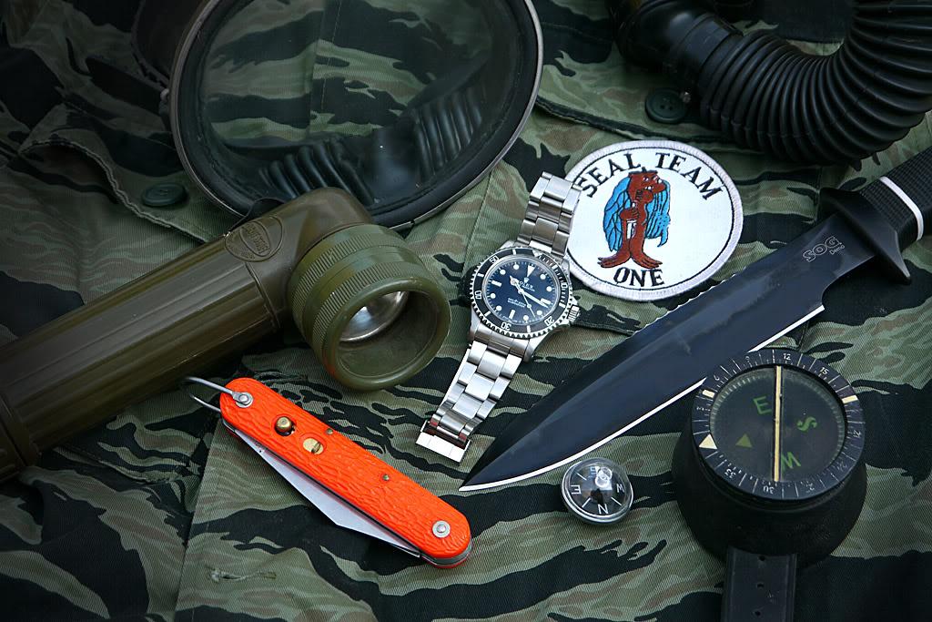 "Suite de ""operation in the Delta"" : Seals and Rolex Sogsub05"