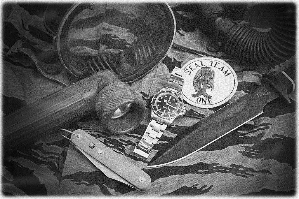 "Suite de ""operation in the Delta"" : Seals and Rolex Sogsub06"