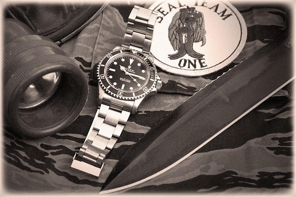 "Suite de ""operation in the Delta"" : Seals and Rolex Sogsub07"