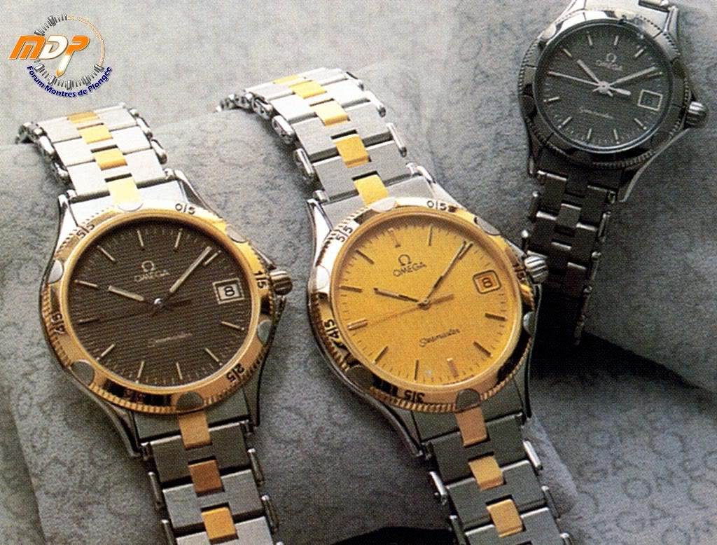 Les Seamaster dans les eighties ... Shell