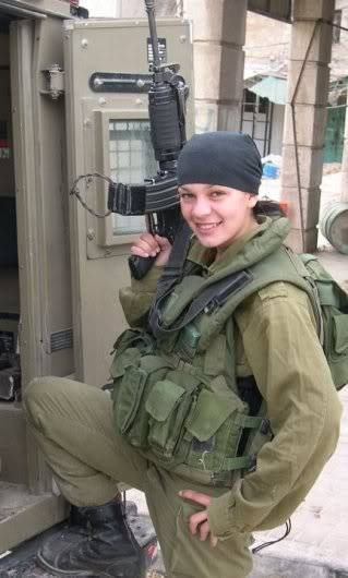 One X - 'Baby Lisa' Military_woman_israel_army_000151_j