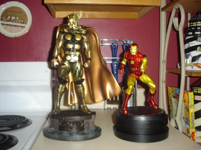 "Statue IRON-MAN ""classic"" (2°version) DSC06257"