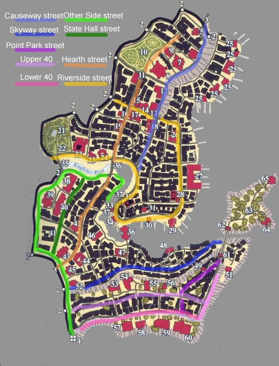A Map of Saltmarsh (From the DMG 2) OneStreet