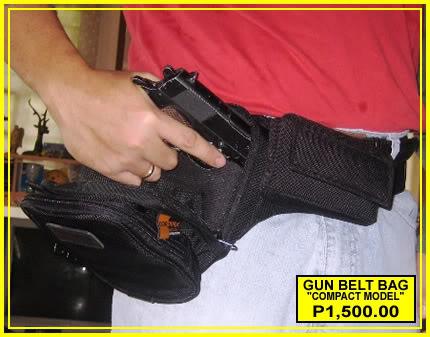 FS: Compact GUN BELT BAG GBB-M3-B3