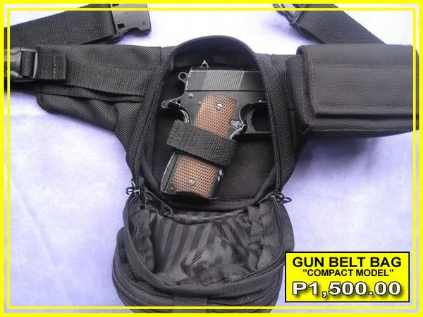 FS: Compact GUN BELT BAG GBB-M3-front