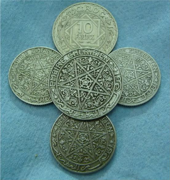 Moroccan coins P1020905