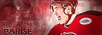 Zach Parise - New Jersey Devils