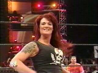 BACKSTAGE BRAWLS MATCH-------JAQUELINE VS LITA 075