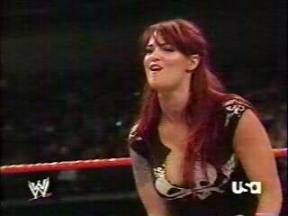 BACKSTAGE BRAWLS MATCH-------JAQUELINE VS LITA Lita28